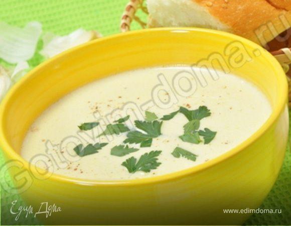 Чесночный суп-пюре