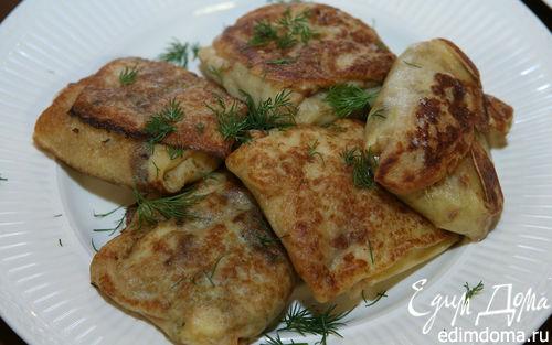 Рецепт Блины с капустой