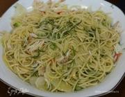 Спагетти с крабами и фенхелем