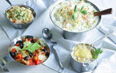 Рецепт Кокот из белых грибов