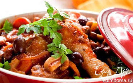 Рецепт Цыплята с сушеными фруктами