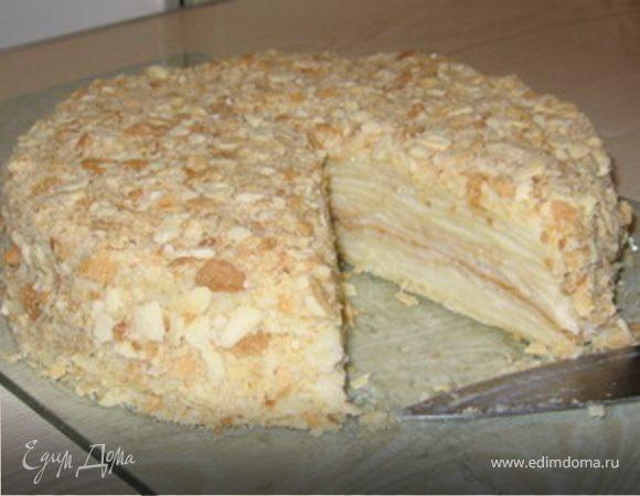 "Бабушкин рецепт торта ""Наполеон"""