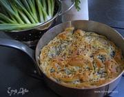 Пирог из курицы с грибами