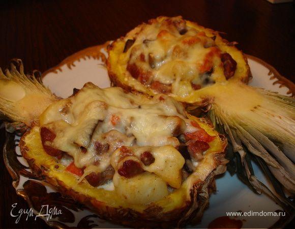 запечёные ананасы
