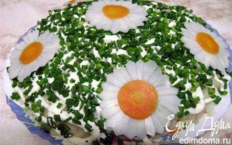 "Рецепт Салат ""Ромашка"""