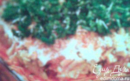 Рецепт Овощной торт с грецкими орехами
