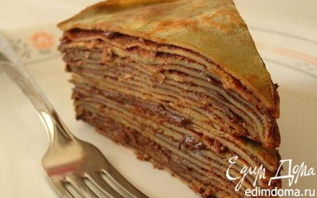 """Рецепт """"Блины превращаются...в торт"""""""