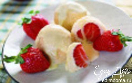Рецепт Кнедлики с клубникой