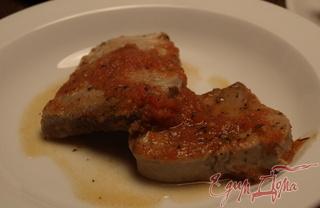Рецепт Тунец в томатном пюре