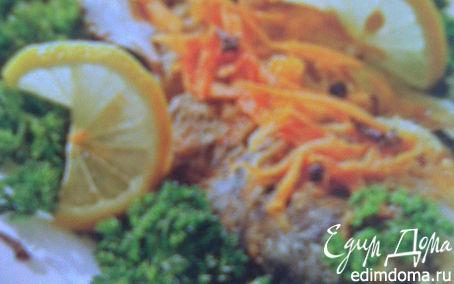 Рецепт Карп с жареными овощами