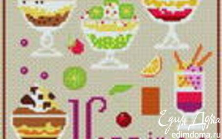 Рецепт Verrines c авокадо и козьим сыром