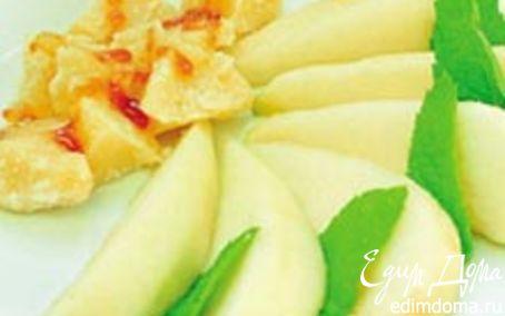 Рецепт Pera al parmigiano - Груша с пармезаном