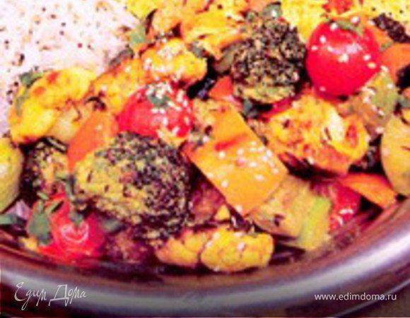 «Индийское овощное рагу»