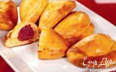 Рецепт Творожные пирожки с фруктами