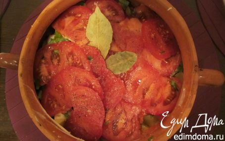 Рецепт Рыба в горшочке