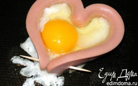 Рецепт Завтрак на день влюблённых