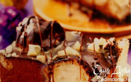 Рецепт Шоколадный торт с эклерами