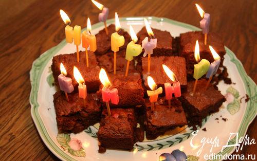 Рецепт Кекс на день рождения
