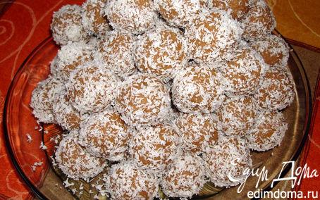 """Рецепт """"Конфеты"""" овсяно-кокосовые"""