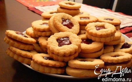 Рецепт Печенье с джемом