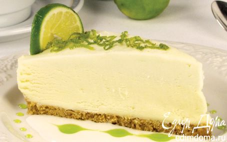 Рецепт Творожный торт с лаймом