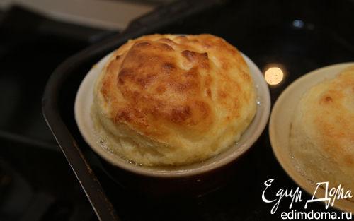 Рецепт Сырное суфле c пряностями