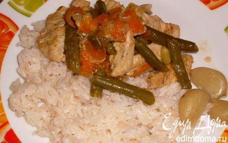 Рецепт Свинина с овощами и рисом по-особому