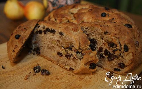 Рецепт Домашний хлеб с корицей и изюмом