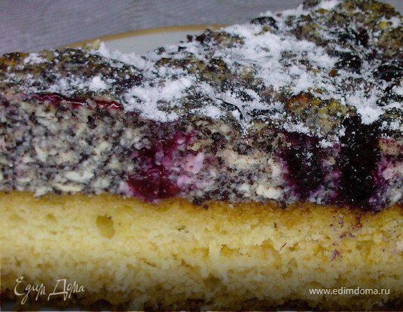 "торт""Маковая вишенка"""