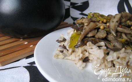 Рецепт Смешанный рис с вешенками