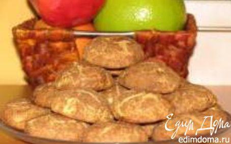 Рецепт Печенье с корицей и шоколадной пастой