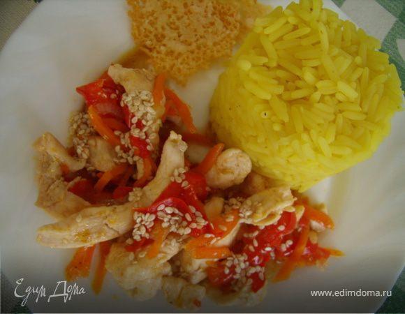 Филе в медово-соевом соусе
