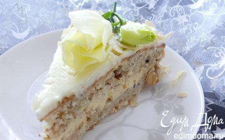 Рецепт Сметанно - ореховый торт
