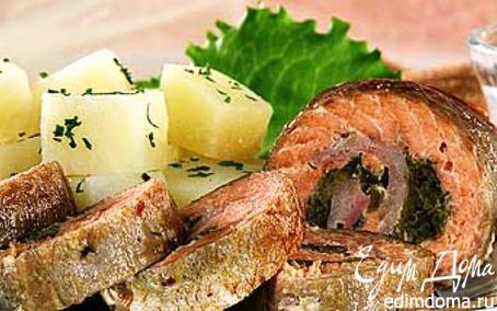 Рецепт Филе горбуши с соусом
