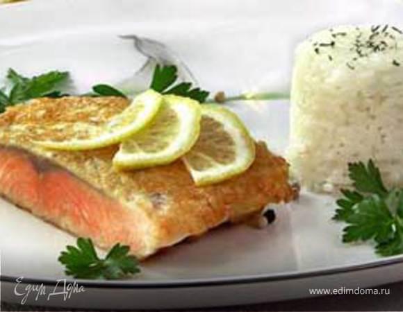 Рыба в сырной корочке
