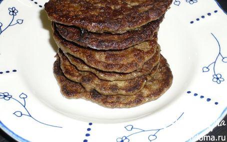 Рецепт Оладьи из говяжей печени