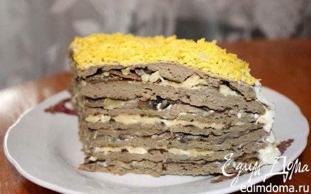 Рецепт Торт из печени