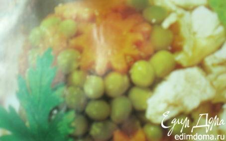 Рецепт Заливное из куриного филе с овощами