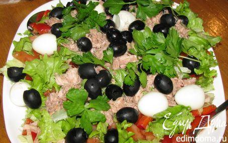 Рецепт Сытный салатик