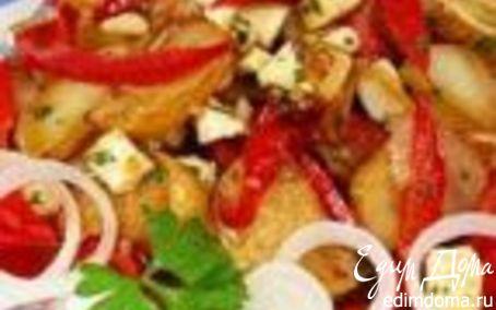 Рецепт Жареный картофель по-гречески