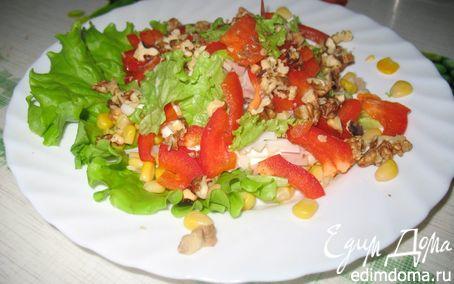 "Рецепт Салат ""Рио"" с морепродуктами"