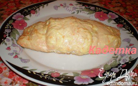 Рецепт Куриный рулет с сыром и зеленью
