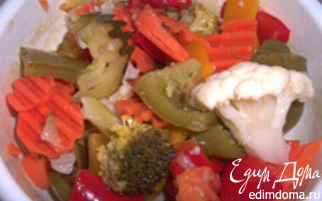 Рецепт Маринованные овощи