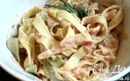 Рецепт Паста с сыром рикотта и томатным соусом