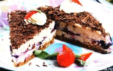 Рецепт Торт с лесными ягодами