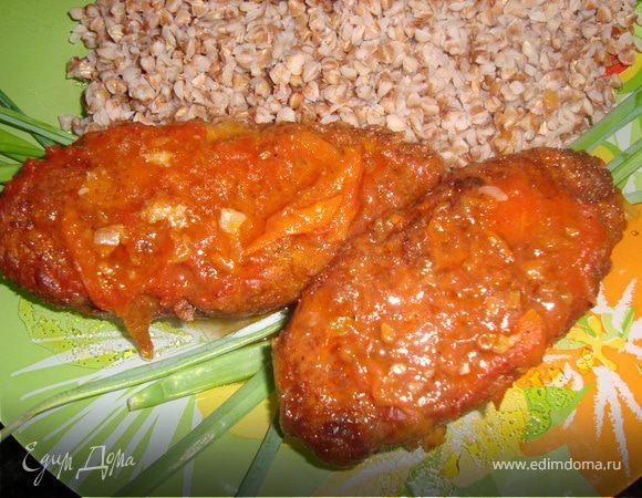 Щучьи палочки в томатном соусе