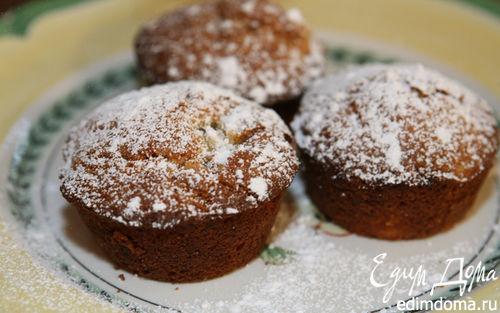 Рецепт Маффины с ананасами и грецкими орехами