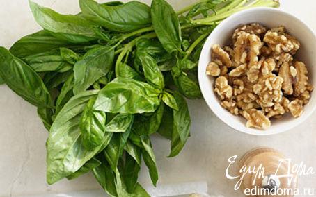 Рецепт Песто из петрушки, льняного семени и грецкого орех
