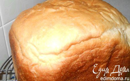 Рецепт Воздушный белый хлебушек (для хлебопечки) в хлебопечке