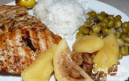 Рецепт Индейка с фруктами